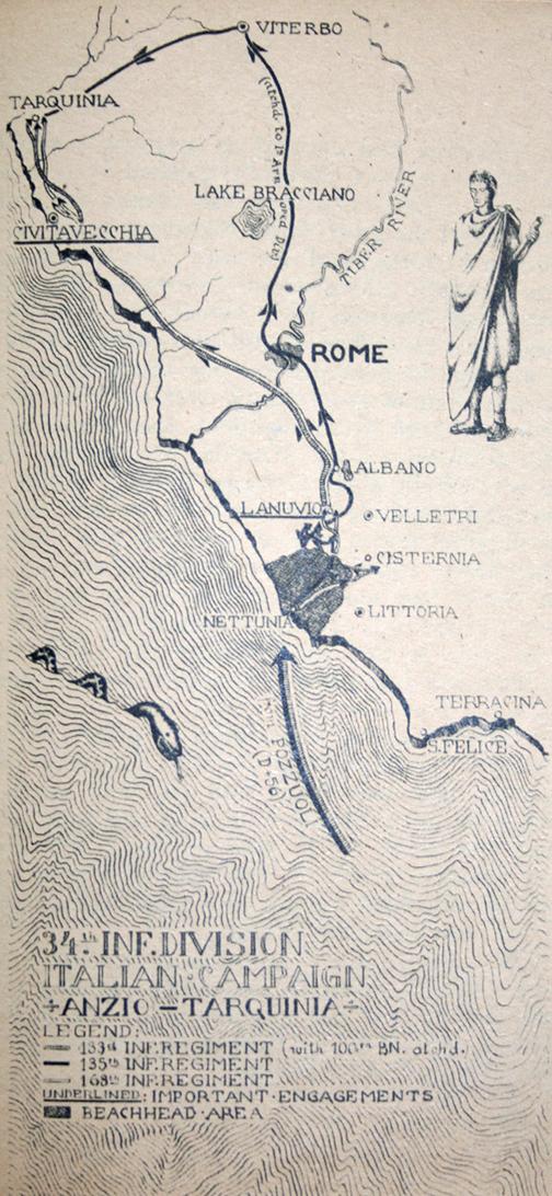 34th Infantry Division: Anzio – Tarquinia (34th Inf.Div.)