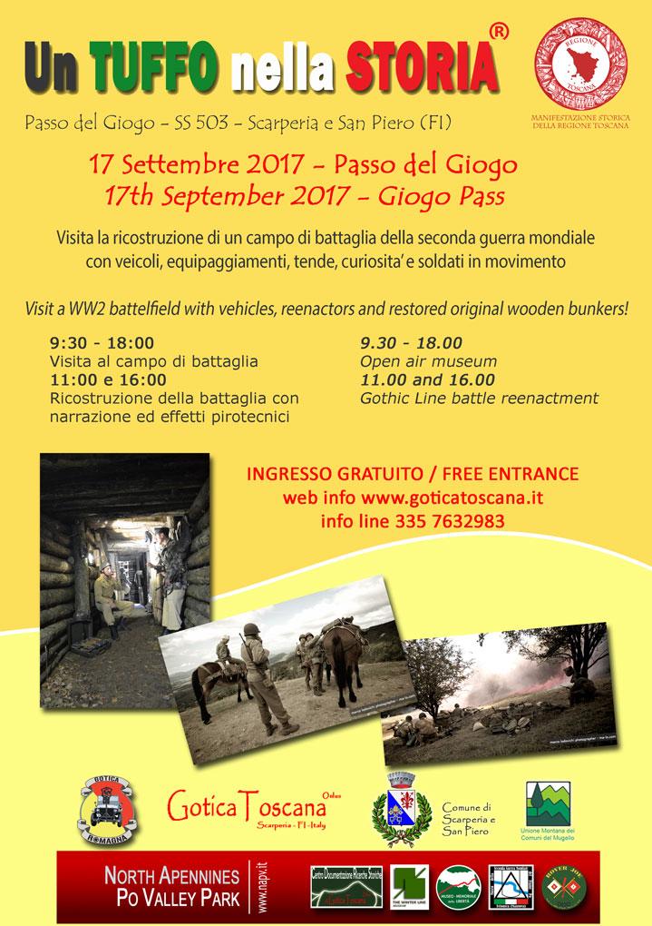 Un Tuffo nella Storia: 1944 - Gotica Toscana onlus - Gotica Romagna - Comune di Scarperia e San Piero - Unione Montana dei Comuni del Mugello