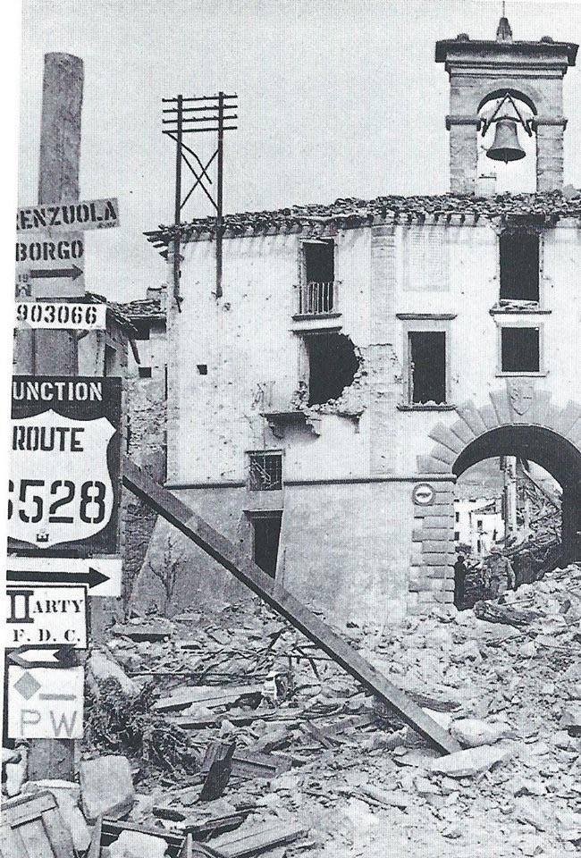 Firenzuola dopo l'arrivo degli Alleati