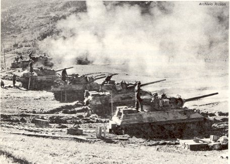 M10 della 6th South African Armoured Division