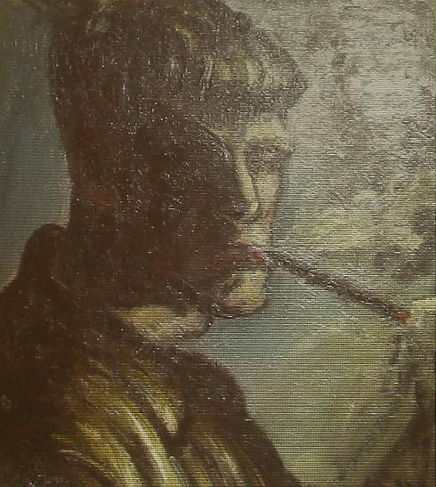 Otto Dix - Autoritratto 1919