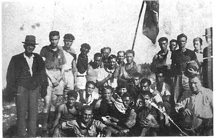Partigiani barberinesi della Brigata Fanciullacci.