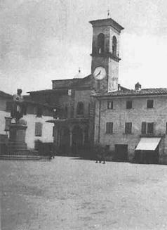 Vicchio, piazza Giotto.