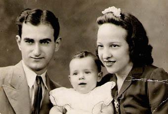 Ricardo Da Lama, Gloria e Mary - Agosto 1943